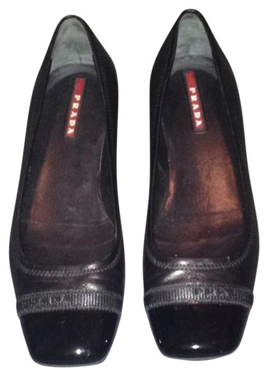 Preload https://img-static.tradesy.com/item/808848/prada-black-leather-leather-logo-flats-size-us-6-regular-m-b-0-0-540-540.jpg