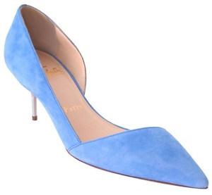 Christian Louboutin 70 Mm D'orsay 36 Sky Blue Pumps