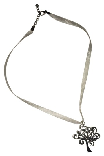 Other Silvery Tree Necklace Image 0