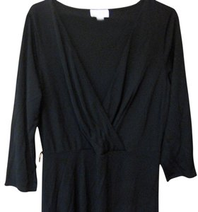 Ann Taylor LOFT Jersey Drape V-neck Dress