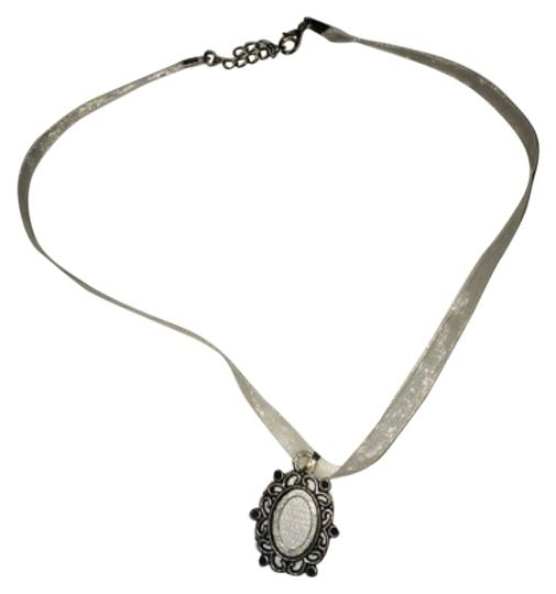 Other Add A Photo Silvery Frame Necklace Image 0