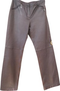 Siena Studio Straight Pants Black Leather