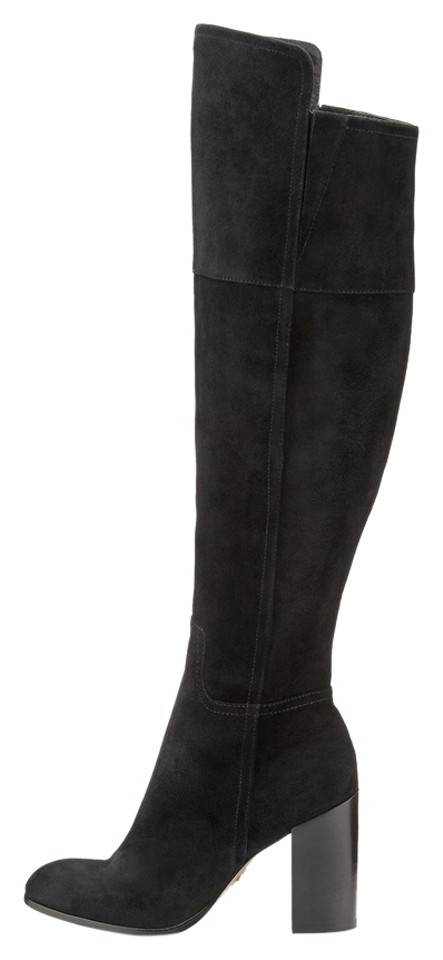 a6cafbc4a1b Pour La Victoire Black Talia Suede Over-the-knee Boots Booties Size ...