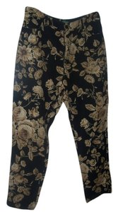 Ralph Lauren Straight Pants floral