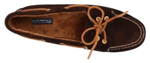 Sperry Dark brown Flats