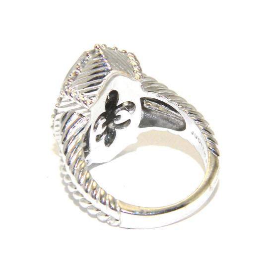 Judith Ripka udith Ripka Sterling Silver Champagne Quartz Marquise Ring SIZE 6 Image 3