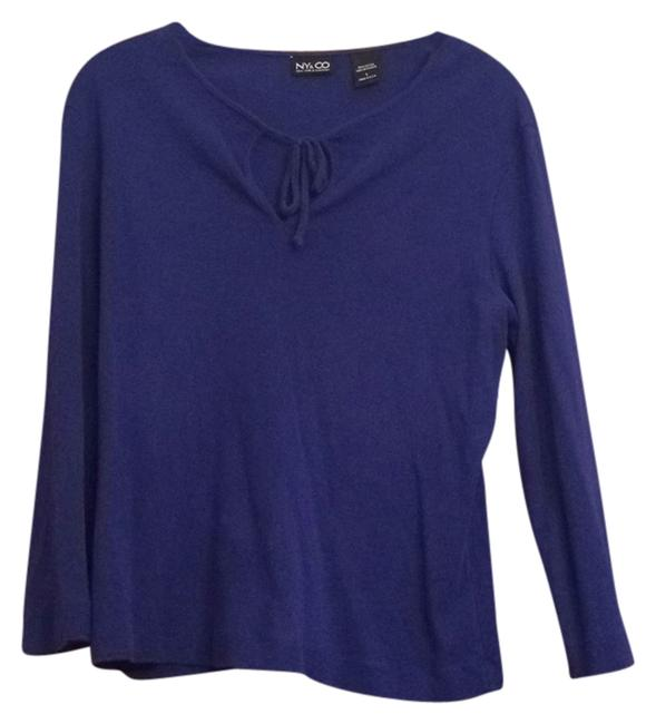 Preload https://img-static.tradesy.com/item/8093566/new-york-and-company-blue-sweaterpullover-size-14-l-0-3-650-650.jpg