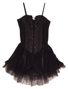 Living Dead Souls short dress Black on Tradesy