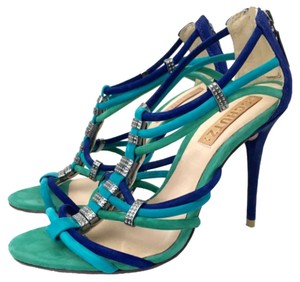 SCHUTZ Blue Green Pumps