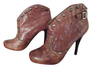 BCBGeneration Bcbg Studded Brown Boots