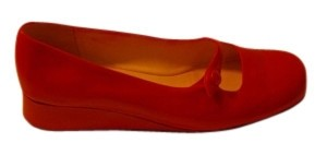 Nordstrom Red Flats