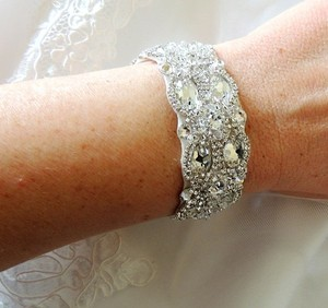 Other Weddng Bridal Crystal Bracelet Cuff Bangle
