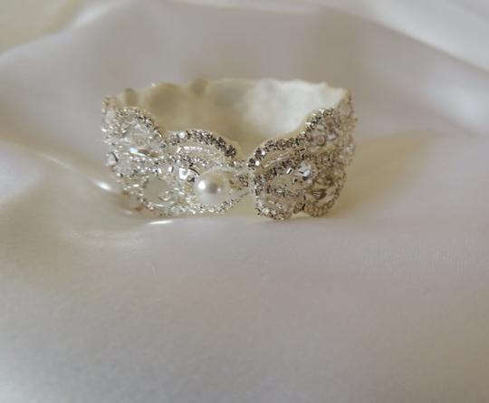 Crystal Cuff Bangle Bracelet