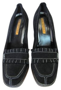 Via Spiga New Excellent Condition Size 7.00 M Black Wedges