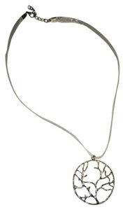 Other Silvery Tree Necklace