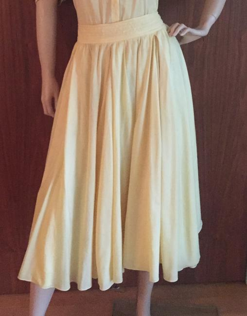 pale yellow Maxi Dress by Beltrami Image 1