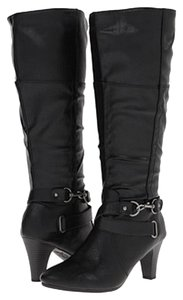 LifeStride Riding Wide Calf New Black Boots
