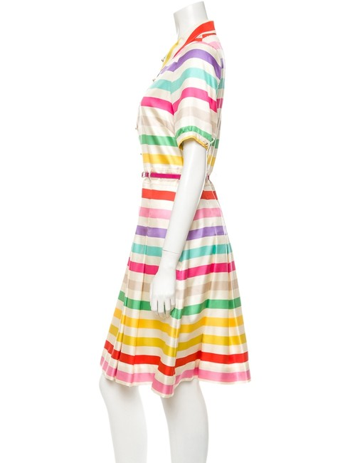 Kate Spade Jeanette Dallas Howard Perry Celebrity Candy Stripe Dress