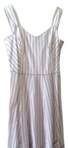 White Multi Maxi Dress by Liz Claiborne