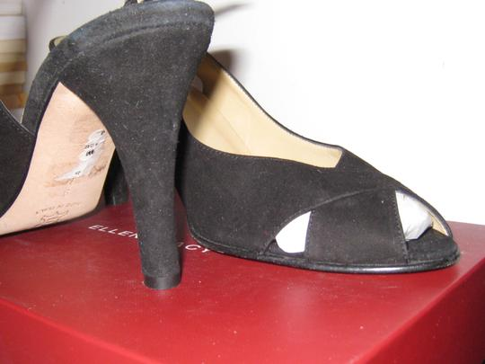 Ellen Tracy Black Suede Formal