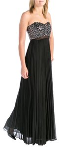 Black Silver Maxi Dress by Aqua