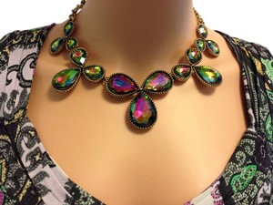 Other Iridescent Statement Necklace