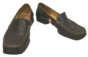 Bally Leather Flat BROWN Flats