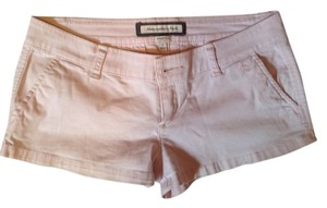 Abercrombie & Fitch & Mini/Short Shorts Light Pink