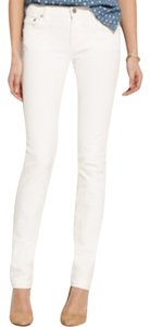 Madewell Rail Straight Jeans - White - Size 28x34 Straight Leg Jeans