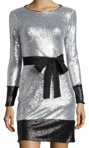 Mark & James by Badgley Mischka Sequin Mini Longsleeve Party Dress