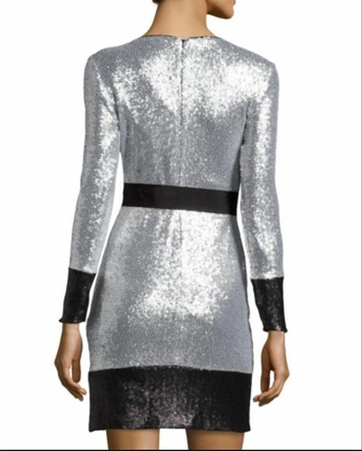 Mark & James by Badgley Mischka Sequin Mini Party Evening Sparkle Dress Image 1
