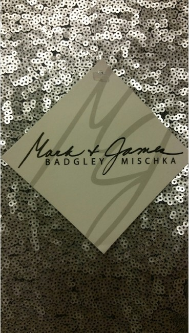 Mark & James by Badgley Mischka Sequin Mini Party Evening Sparkle Dress Image 3