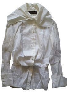 Louis Vuitton Top Blouse White