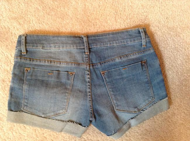 dELiA's Taylor Cuffed Shorts Denim
