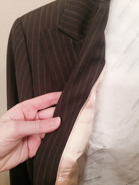 Banana Republic New Banana Republic 2 Pc Brown Pant Suit Size 6