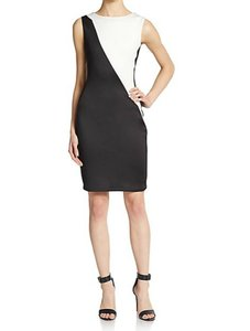 Mark & James by Badgley Mischka Bodycon Color-blocking Fitted Dress