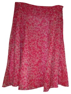 Skirt Pink with Flowers