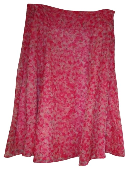 Other Skirt Pink with Flowers