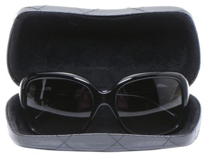 Chanel Chanel Leather Bow Sunglasses 5280