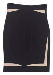 Hervé Leger Skirt Black and white