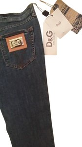 D&G Capri/Cropped Denim-Medium Wash