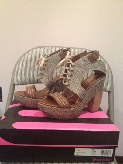 Michael Antonio Brown Canvas Platforms