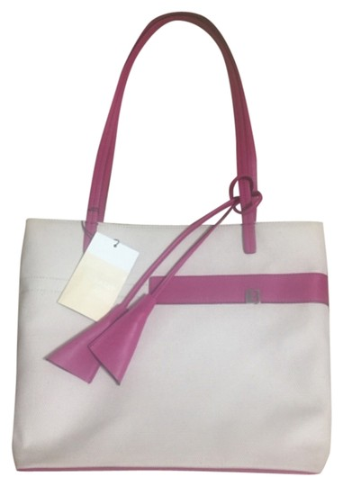 Preload https://img-static.tradesy.com/item/8103112/bally-fabric-and-leather-magenta-tote-0-3-540-540.jpg