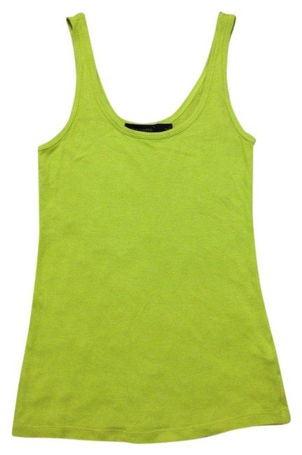The Limited Top Lime Green