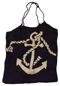 Target Nautical Anchor Sailor Tote in Navy Blue