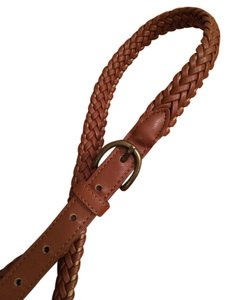 Urban Outfitters Brown plaited leather belt