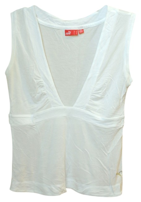Item - White Workout Activewear Top Size 8 (M, 29, 30)