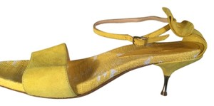 René Lezard Yellow Sandals