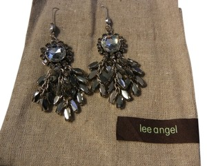 Lee Angel Lee Angel Crystal Dangle Earrings