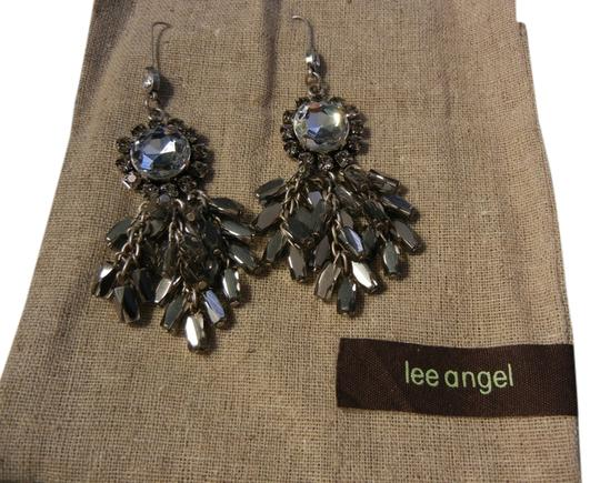 Preload https://item3.tradesy.com/images/lee-angel-silver-crystal-dangle-earrings-810647-0-0.jpg?width=440&height=440
